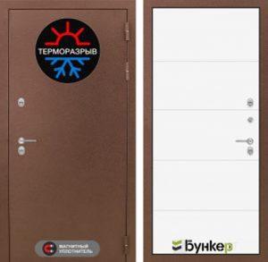 """Входная дверь серии """"ТЕРМО-3"""" модель 21"""