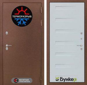 """Входная дверь серии """"ТЕРМО-3"""" модель 24"""