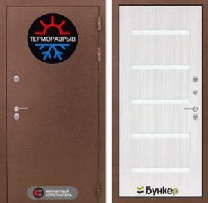 """Входная дверь серии """"ТЕРМО-3"""" модель 3"""