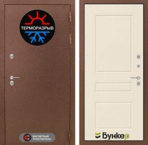 """Входная дверь серии """"ТЕРМО-3"""" модель 7"""